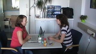 Foto Testung Interview Gespräch